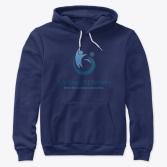 avof hoodie - navy teespring